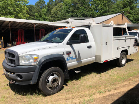 2008 Dodge Ram Chassis 4500 for sale at M & W MOTOR COMPANY in Hope AR