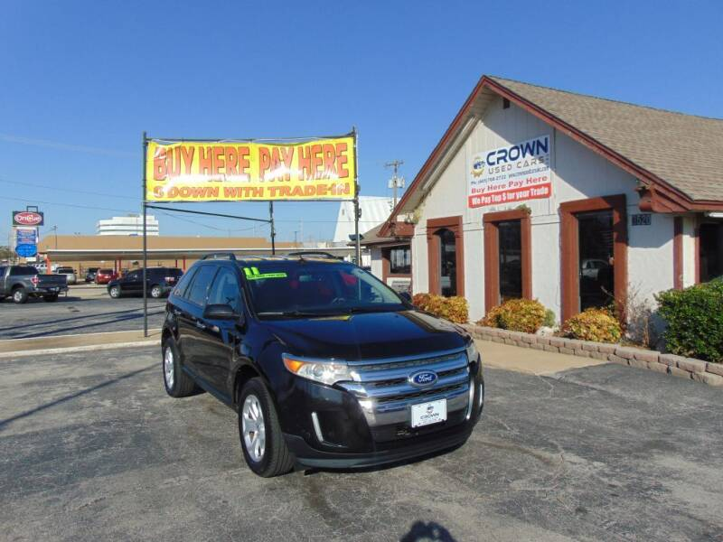 2011 Ford Edge for sale at Crown Used Cars in Oklahoma City OK
