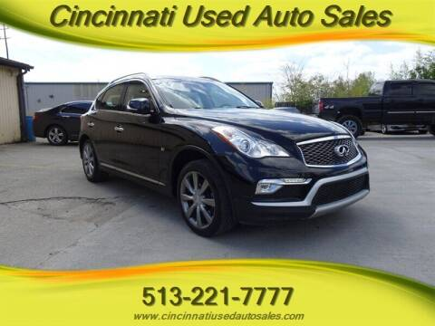 2016 Infiniti QX50 for sale at Cincinnati Used Auto Sales in Cincinnati OH