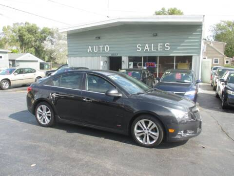 2012 Chevrolet Cruze for sale at SHEFFIELD MOTORS INC in Kenosha WI