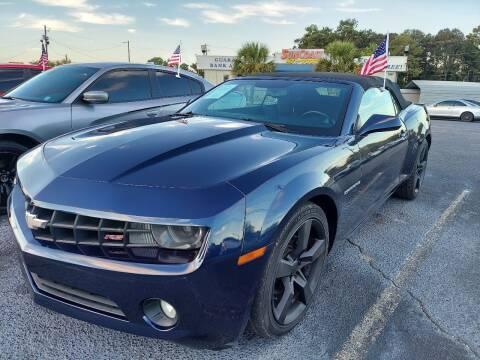 2012 Chevrolet Camaro for sale at Sun Coast City Auto Sales in Mobile AL
