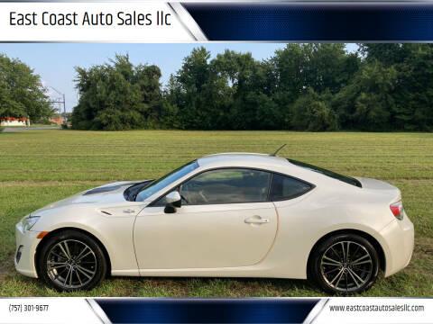 2014 Scion FR-S for sale at East Coast Auto Sales llc in Virginia Beach VA