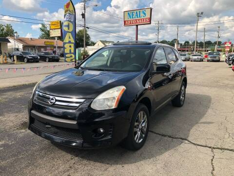 2010 Nissan Rogue for sale at Neals Auto Sales in Louisville KY