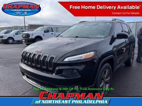 2017 Jeep Cherokee for sale at CHAPMAN FORD NORTHEAST PHILADELPHIA in Philadelphia PA