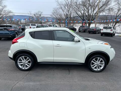 2012 Nissan JUKE for sale at MAGNUM MOTORS in Reedsville PA