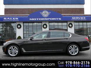 2016 BMW 7 Series for sale at Highline Group Motorsports in Lowell MA