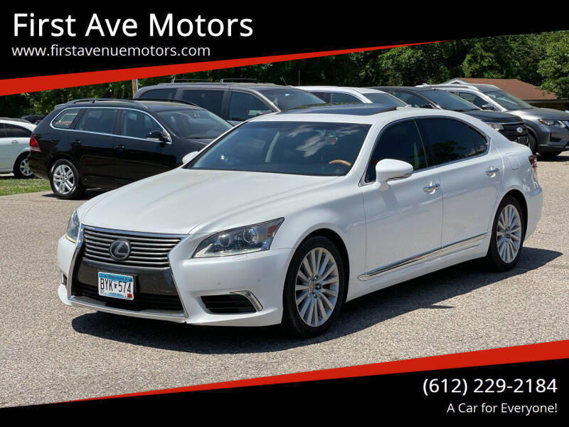 2014 Lexus LS 460 for sale at First Ave Motors in Shakopee MN