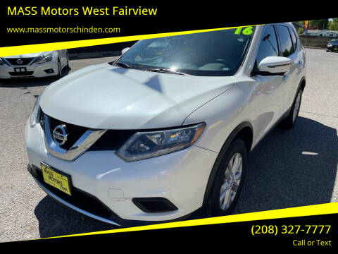 2016 Nissan Rogue for sale at M.A.S.S. Motors - West Fairview in Boise ID