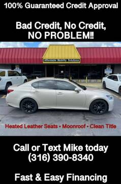 2013 Lexus GS 350 for sale at Affordable Mobility Solutions, LLC - Standard Vehicles in Wichita KS