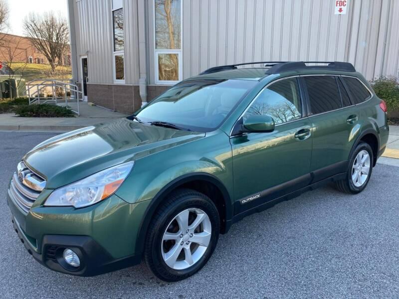 2013 Subaru Outback for sale at AMERICAR INC in Laurel MD