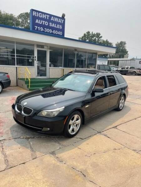 2008 BMW 5 Series for sale at Right Away Auto Sales in Colorado Springs CO