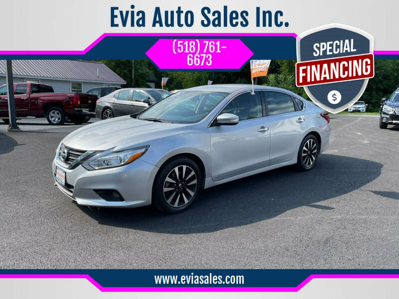 2018 Nissan Altima for sale at Evia Auto Sales Inc. in Glens Falls NY