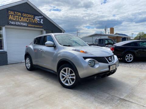 2012 Nissan JUKE for sale at Dalton George Automotive in Marietta OH