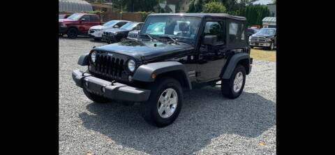 2015 Jeep Wrangler for sale at QUALITY AUTOS in Hamburg NJ