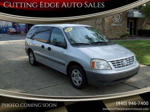 2007 Ford Freestar for sale at Cutting Edge Auto Sales in Willoughby OH