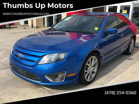 2011 Ford Fusion for sale at Thumbs Up Motors in Warner Robins GA