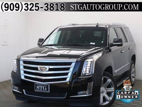 2020 Cadillac Escalade for sale at STG Auto Group in Montclair CA