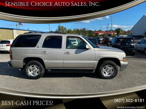 2004 Chevrolet Tahoe for sale at Sensible Choice Auto Sales, Inc. in Longwood FL