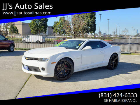 2014 Chevrolet Camaro for sale at JJ's Auto Sales in Salinas CA