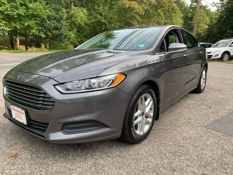 2013 Ford Fusion for sale at Old Rock Motors in Pelham NH