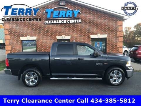 2016 RAM Ram Pickup 1500 for sale at Terry Clearance Center in Lynchburg VA