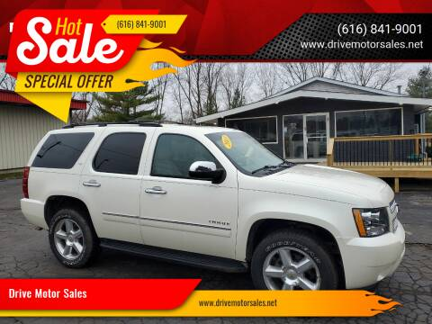2013 Chevrolet Tahoe for sale at Drive Motor Sales in Ionia MI