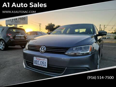 2013 Volkswagen Jetta for sale at A1 Auto Sales in Sacramento CA