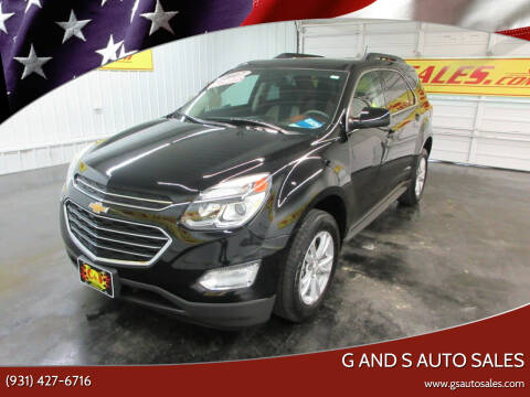 2017 Chevrolet Equinox for sale at G and S Auto Sales in Ardmore TN