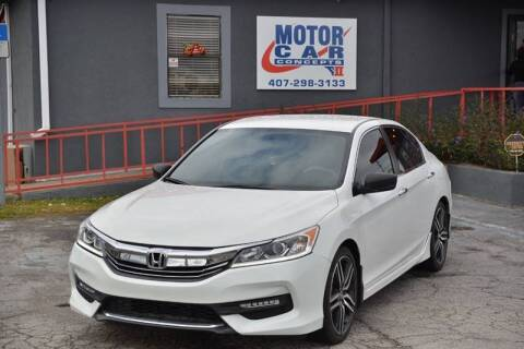 2017 Honda Accord for sale at Motor Car Concepts II - Kirkman Location in Orlando FL
