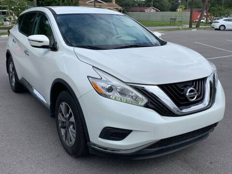 2016 Nissan Murano for sale at Consumer Auto Credit in Tampa FL