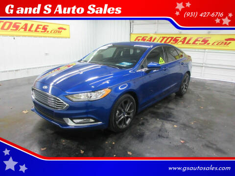 2018 Ford Fusion for sale at G and S Auto Sales in Ardmore TN