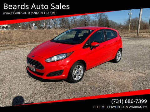 2015 Ford Fiesta for sale at Beards Auto Sales in Milan TN