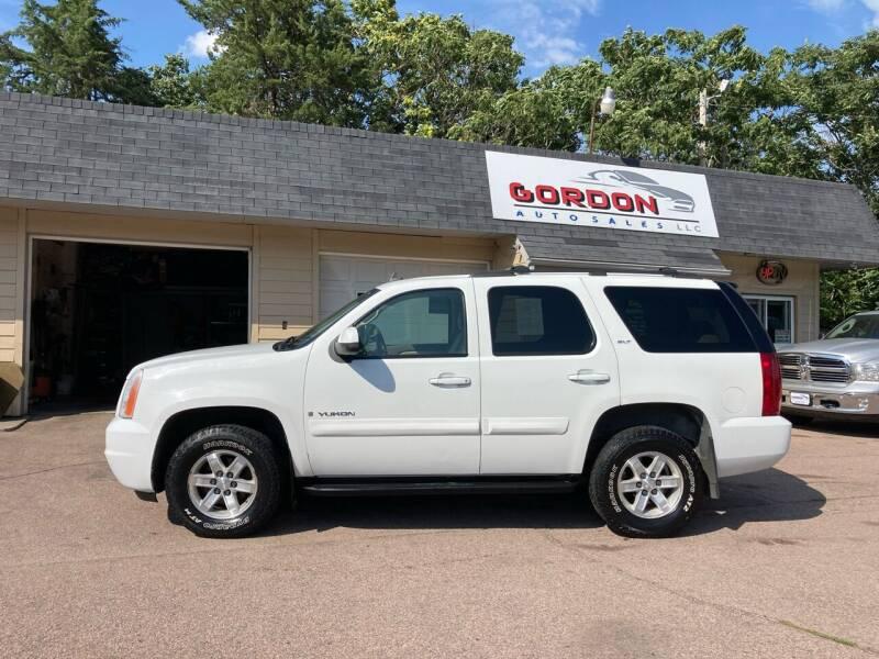 2007 GMC Yukon for sale at Gordon Auto Sales LLC in Sioux City IA