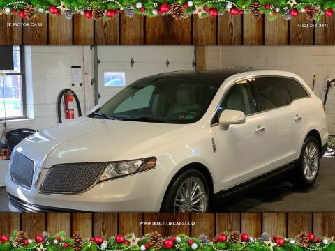 2013 Lincoln MKT for sale at JK Motor Cars in Pittsburgh PA