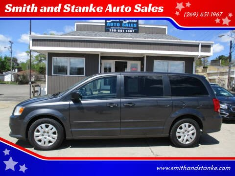 2016 Dodge Grand Caravan for sale at Smith and Stanke Auto Sales in Sturgis MI
