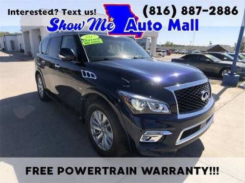 2017 Infiniti QX80 for sale at Show Me Auto Mall in Harrisonville MO
