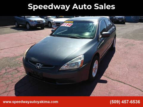 2003 Honda Accord for sale at Speedway Auto Sales in Yakima WA