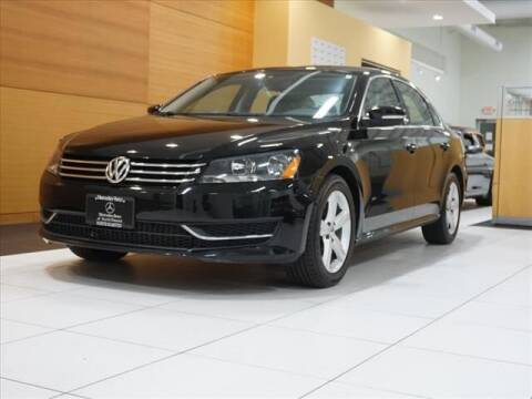 2013 Volkswagen Passat for sale at Mercedes-Benz of North Olmsted in North Olmstead OH