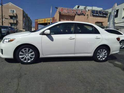 2013 Toyota Corolla for sale at Western Motors Inc in Los Angeles CA