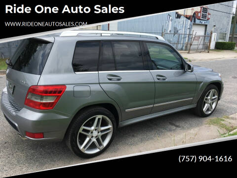 2011 Mercedes-Benz GLK for sale at Ride One Auto Sales in Norfolk VA
