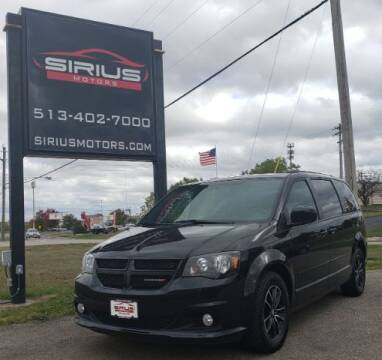 2017 Dodge Grand Caravan for sale at SIRIUS MOTORS INC in Monroe OH