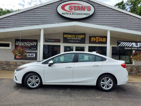2018 Chevrolet Cruze for sale at Stans Auto Sales in Wayland MI