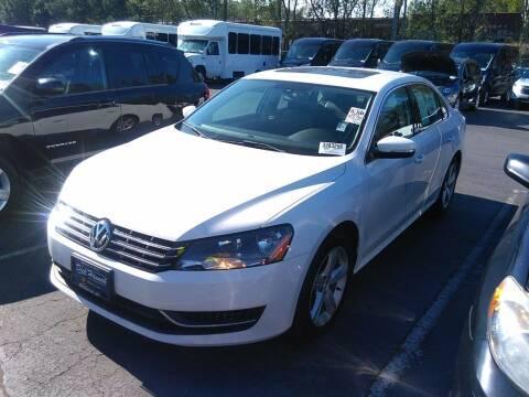 2013 Volkswagen Passat for sale at A.I. Monroe Auto Sales in Bountiful UT