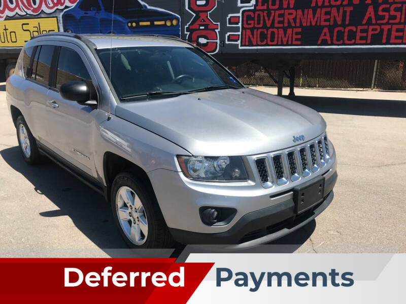 2014 Jeep Compass for sale at Rock Star Auto Sales in Las Vegas NV