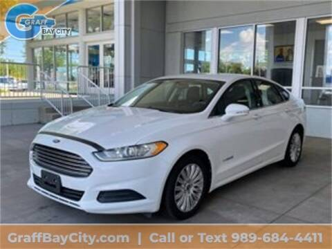 2013 Ford Fusion Hybrid for sale at GRAFF CHEVROLET BAY CITY in Bay City MI