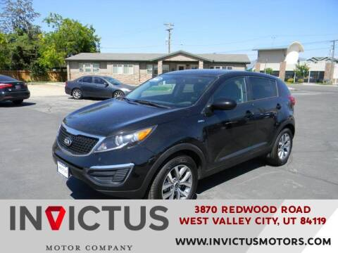 2016 Kia Sportage for sale at INVICTUS MOTOR COMPANY in West Valley City UT