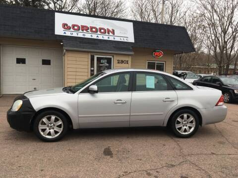 2005 Mercury Montego for sale at Gordon Auto Sales LLC in Sioux City IA