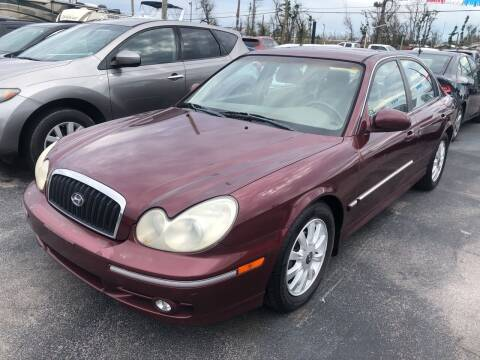 2004 Hyundai Sonata for sale at Outdoor Recreation World Inc. in Panama City FL