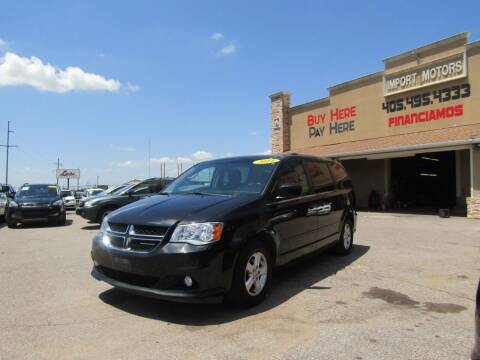 2011 Dodge Grand Caravan for sale at Import Motors in Bethany OK