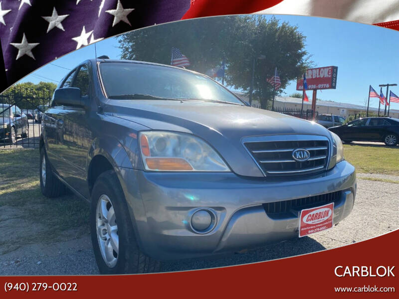 2008 Kia Sorento for sale at CARBLOK in Lewisville TX